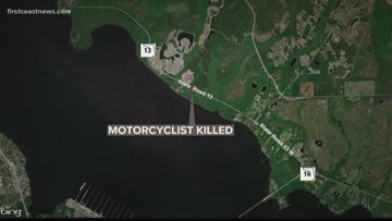 26-year-old motorcyclist dies in crash in St. Johns County
