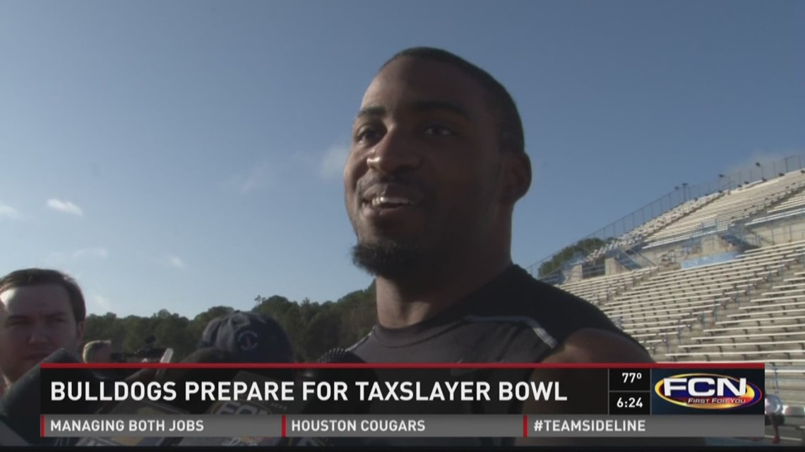 Bulldogs preparing for TaxSlayer Bowl