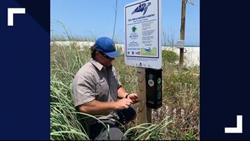 65 cigarette butt litter canisters installed at Neptune, Atlantic Beaches