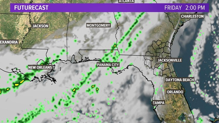 Florida Weather Map In Motion.Jacksonville Weather On Wtlv In Jacksonville