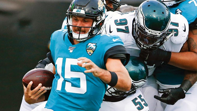 Jaguars lose to Eagles 24-10 in 2nd preseason game