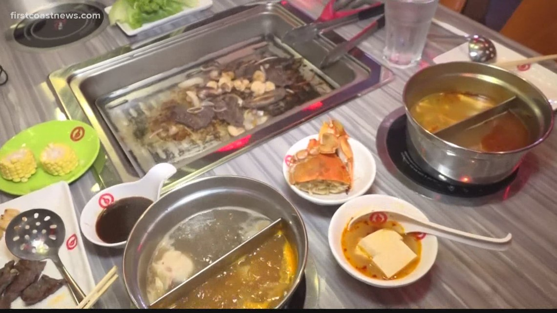 Robots, BBQ and sushi: Yi Liu Hot Pot has it all