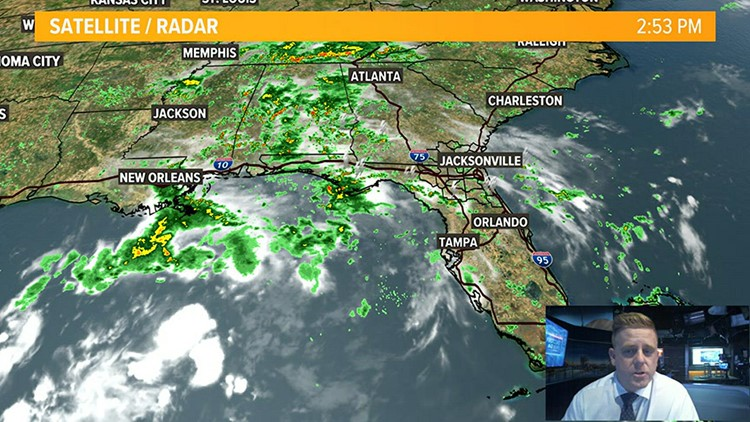 Wet wrap up to summer, cool front arrive late week on the First Coast