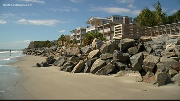 Beach water advisory lifted for some areas of South Beach in Jekyll Island