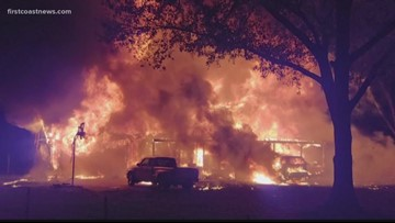 Family displaced after early morning Nassau fire
