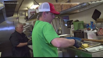 Jacksonville restaurant serves free home-cooked meals to first responders, those in need on Christmas Day