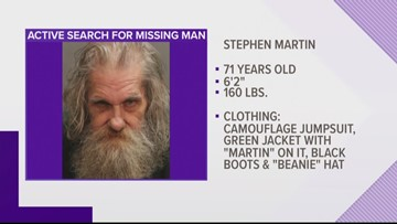 Police looking for missing 71-year-old Lakeshore man with memory loss