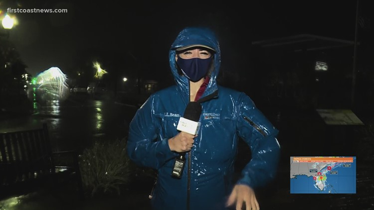 Palatka goes from calm conditions to wet weather in less than an hour