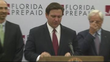 Gov. DeSantis announces price cut for Florida Prepaid plans
