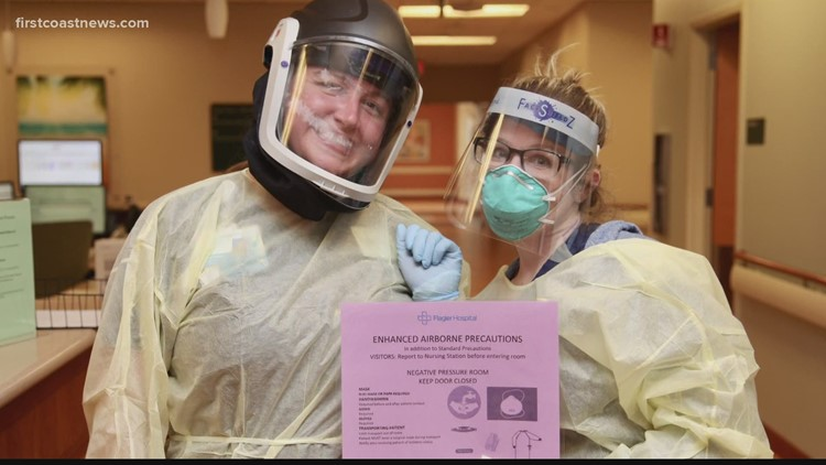Superheroes in Scrubs: New nurse says she was just doing her job during COVID-19 pandemic