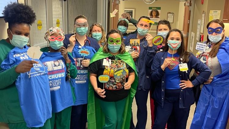 Superheroes in Scrubs returns!