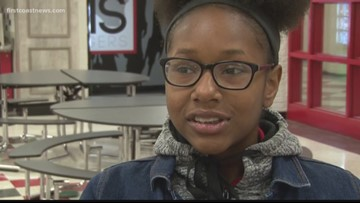 STEM Student of the Week: Mya Sudduth from Andrew Jackson High School