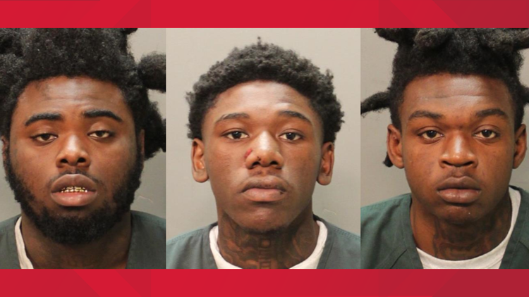 Identities of three suspects released following officer-involved shooting in Moncrief