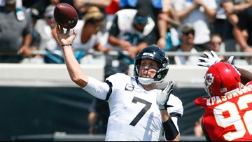 End of Minshew Mania? Jaguars announce Foles will start as QB