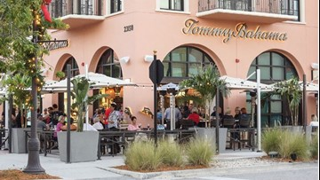 Soon you'll be able to buy a shirt and a cocktail at Tommy Bahama at the Town Center