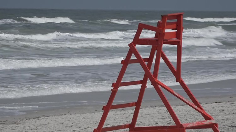 Jacksonville Beach issues rip current warning