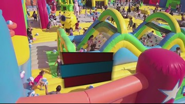 World's largest bounce house comes to Jacksonville