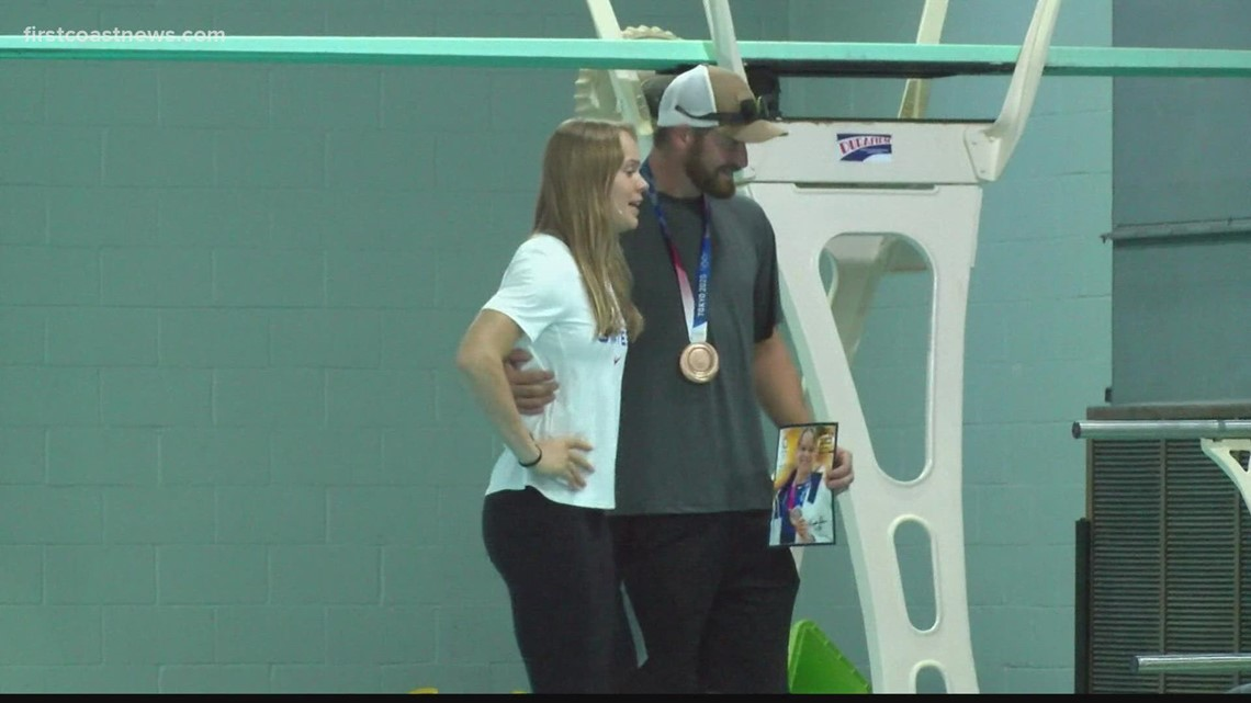 Buzz: Krysta Palmer brings home bronze medal, says adversity made her stronger