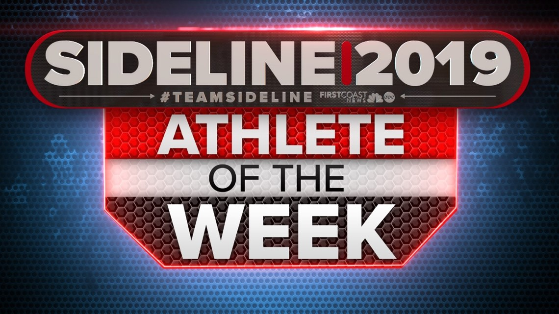 Nominate a student for First Coast News' Athlete of the week
