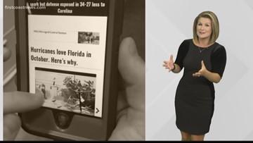 Verify: Do Hurricanes love Florida in October?