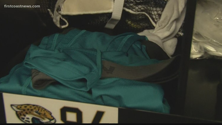 Jaguars moving to teal jerseys & other equipment room tales