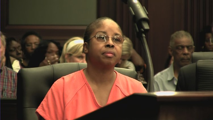 RAW VIDEO ' Gloria Williams sentenced in Duval County Court for kidnapping Kamiyah Mobley