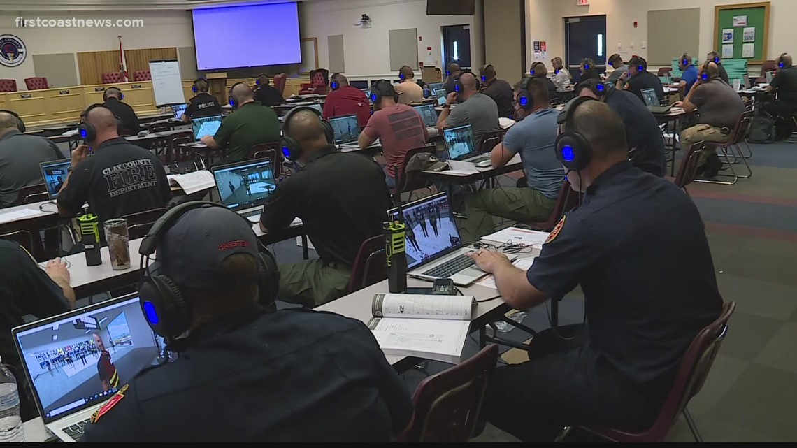 Clay County active shooter drill teaches agencies communication, coordination