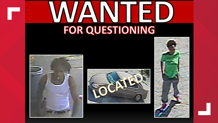 Vehicle recovered, police still looking for persons of interest in murder of Jacksonville 5-year-old