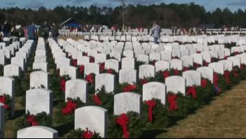 Veterans honored in Wreaths Across America event at Jacksonville Memory Gardens