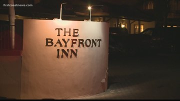 Suspected drunk driver crashes into several vehicles, hotel in St. Augustine