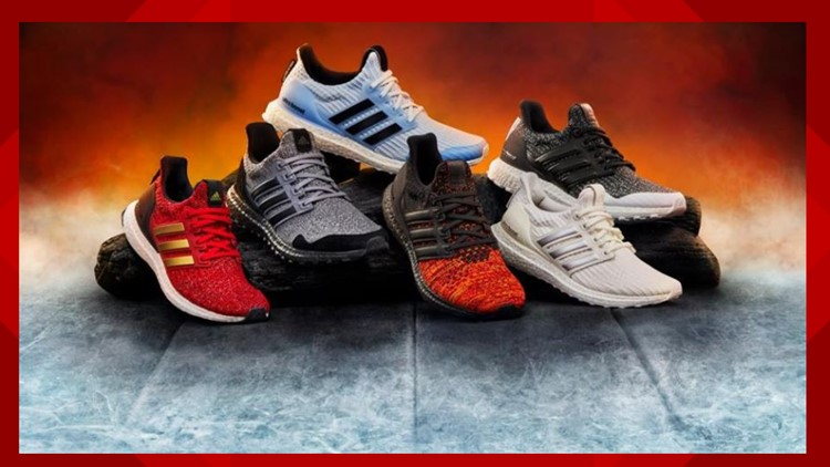 Adidas releases shoes inspired by Game of Thrones