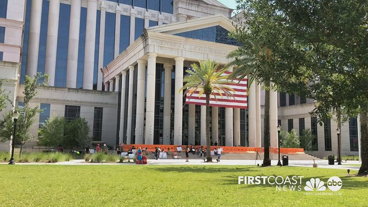 Day 2 of protests against police brutality begins at Duval County Courthouse in Jacksonville