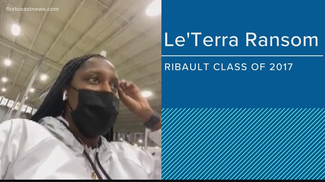 Hear from Ribault players on Rennia Davis' success