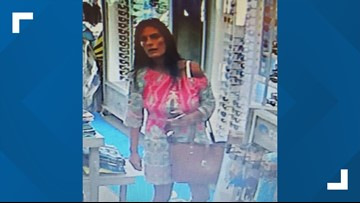 Deputies looking for St. Johns County woman accused of stealing sunglasses