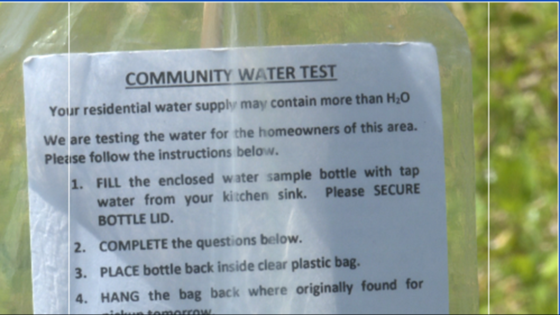 Starke says water is safe after 'voluntary' water test kits surface