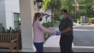 Company impacted by COVID-19 donates 10,000 pairs of surgical gloves to area assisted living, nursing homes