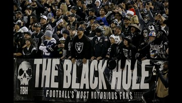 Jaguars, Raiders meet in the final game at 'The Black Hole'
