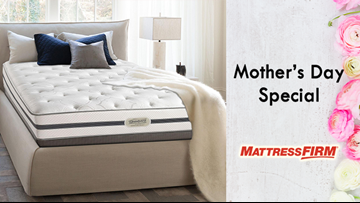 The perfect gift on Mother's Day with Mattress Firm!