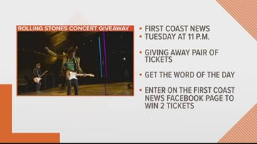 FCN is giving viewers a chance to win FREE tickets to see the Rolling Stones