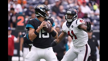 Jaguars fall to Texans in defense-dominated, AFC South showdown