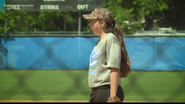 Clay Co. Softball rallies around player suddenly diagnosed with MS