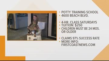 New potty-training school in Jacksonville hopes to flush away bad habits