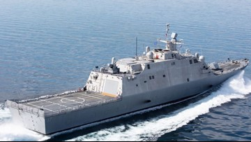 New ship arrives at Naval Station Mayport Tuesday