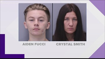 Crystal Smith, mother of Aiden Fucci, pleads not guilty to tampering with evidence