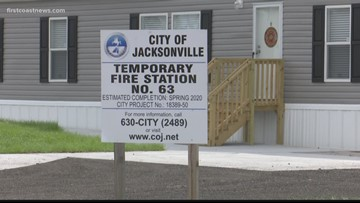Temporary fire station set to open on Jacksonville's southside