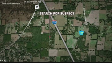 Columbia County deputies, FHP on the lookout for fugitive who bailed from car in Lake City