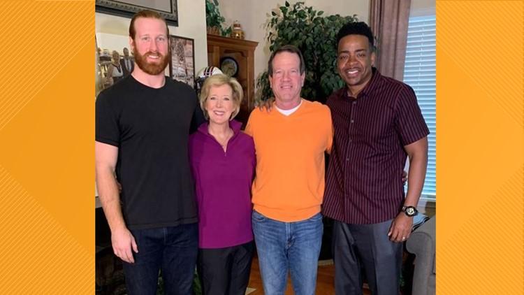 Hayden Hurst and family