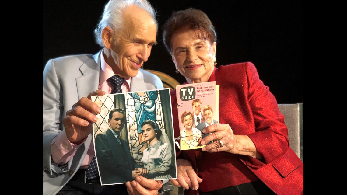 Married on live television, couple celebrates 65th wedding anniversary