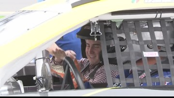 What is it like to ride with a NASCAR great?