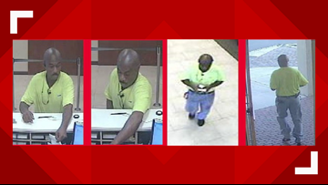Manhunt underway following San Marco bank robbery